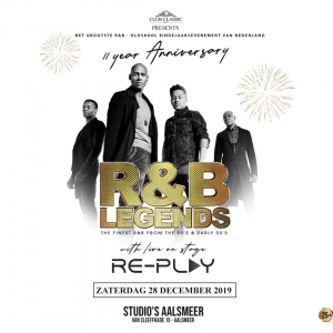 R&B Legends 11 Year Anniversary with Live On Stage Re-Play